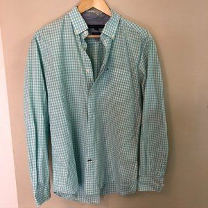 Turquoise Tommy Dress Shirt